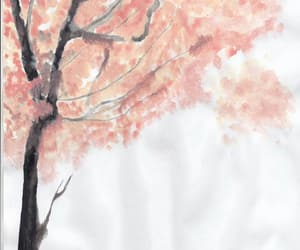 kawaii, pink, and sakura tree image