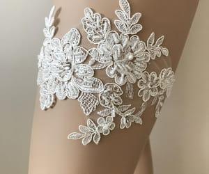 etsy, lingerie, and wedding garter belt image