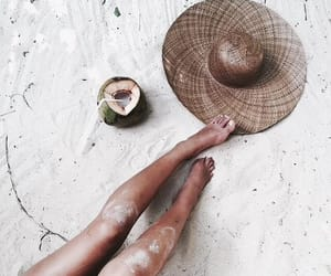 aesthetics, coconut, and girl image