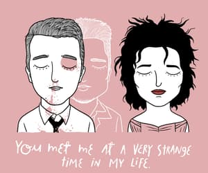 love, quotes, and the addams family image