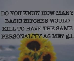 basic, basic bitch, and quote image