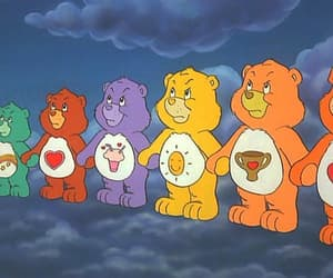 care bears, grunge, and retro image