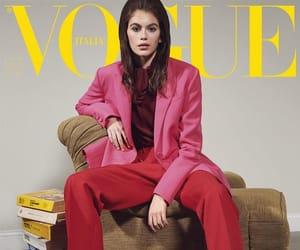 fashion, model, and kaia image
