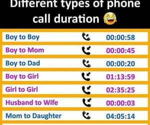 boy, call, and dad image