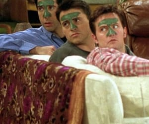 chandler bing, squad, and Joey image