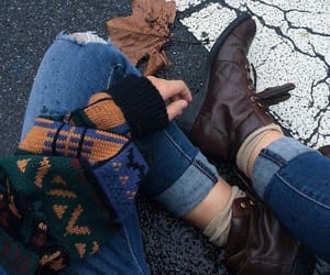 autumn, fashion, and fall image