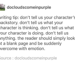 author, tumblr, and writer image