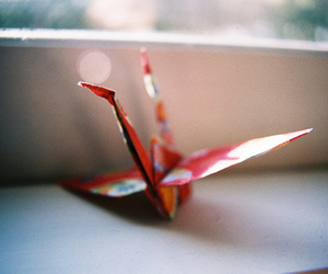 origami, photography, and hipster image