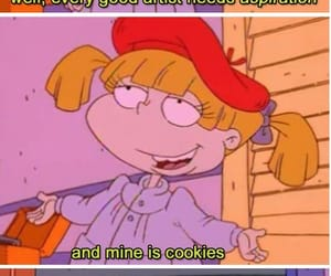 angelica, retro, and rugrats image