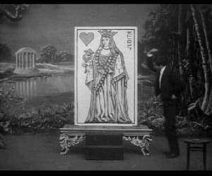 gif, the living playing cards, and vintage image