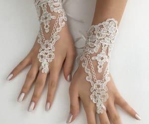 etsy, gants, and bridal gloves image