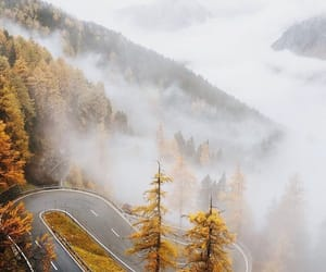 adventures, fall, and foggy image