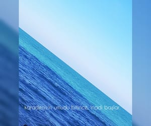 blue, sea, and quote image