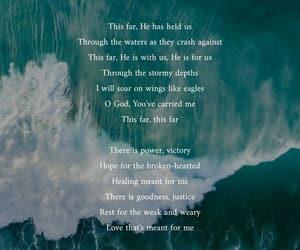 god, Lyrics, and sea image