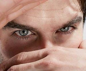 ian somerhalder, eyes, and tvd image