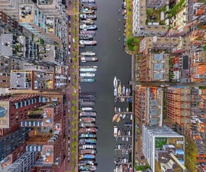 adventure, amsterdam, and canal image