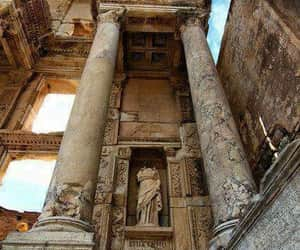 ancient, library, and roman image