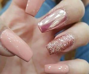 nails, ballerina, and long image