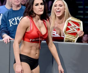 charlotte, wwe, and nikki bella image