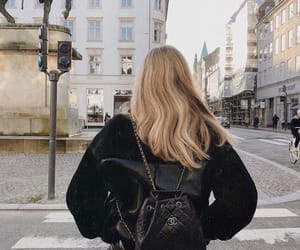 blonde, hair, and chanel image