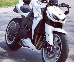 beautiful, motorbike, and white image