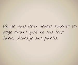 amour, quote, and separation image