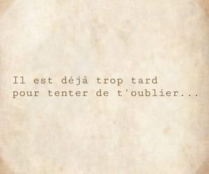 amour, je t'aime, and oublier image