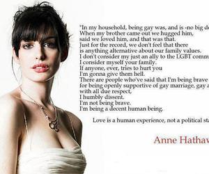 politics, support, and Anne Hathaway image