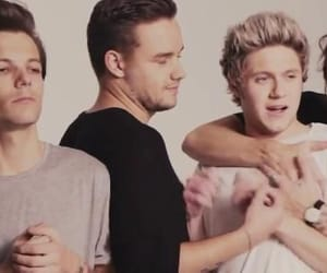 liam payne, niall horan, and louis tomlison image
