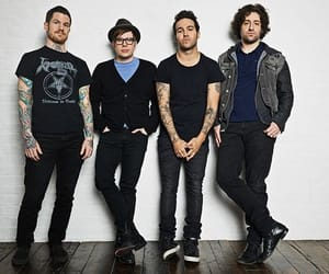 fall out boy, andy hurley, and patrick stump image