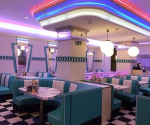 fashion, usa, and diner image