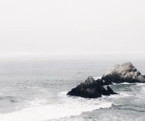 ocean and white image