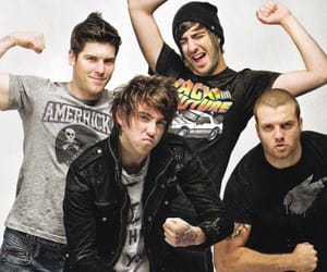 alex gaskarth, zack merrick, and all time low image