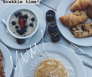 breakfast, food, and beautiful food image