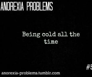 anorexia, myself, and problem image