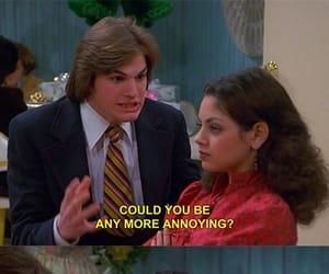 ashton kutcher, 70 show, and Mila Kunis image