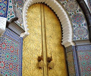 morocco, art, and door image
