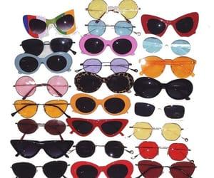 sunglasses, vintage, and glasses image