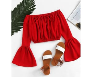 clothing, fashion, and red image