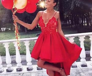 dress, outfit, and party dress image
