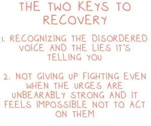 believe, recovery, and disorder image