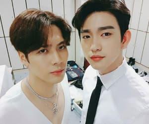 got7, jinyoung, and jackson image
