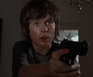 twd, chandler riggs, and carl grimes image