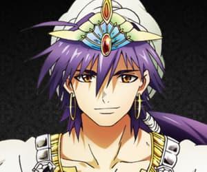 sindbad, anime, and magi image