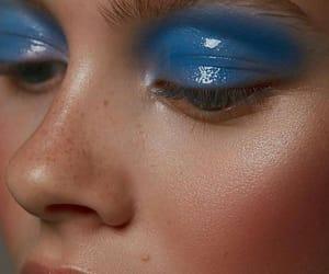 girl, glossy, and makeup image