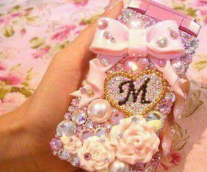 cute, girly, and phone image