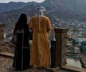 couple, islam, and muslims image