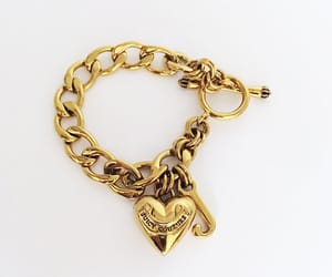 charm bracelet, contemporary, and heart image