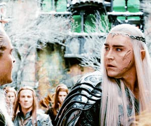 gif, Legolas, and the hobbit image