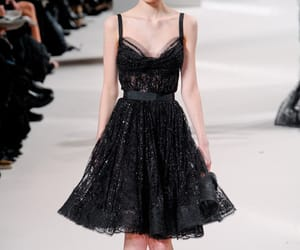 catwalk, elie saab, and fashion image